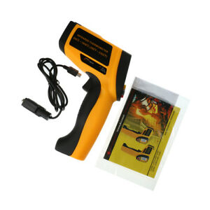 Lcd Digital Ir Infrared Thermometer Temperature Meter 200 1850 c Non contact