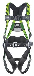 Aircore Full Body Harness With 400 Lb Weight Capacity Green 2xl