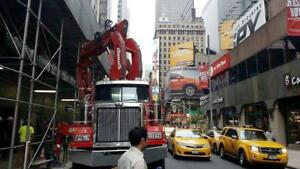 2009 Western Star 4900 With Cormach 125 Knuckleboom Crane And 114 Reach