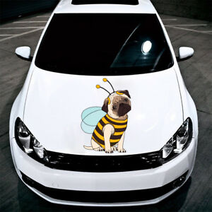 Funny Dog Sticker Car Hood Full Color Graphics Decals Any Vehicle Auto Sd59
