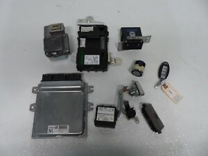 2010 2013 Infiniti G37s Sedan rwd Key Engine Ecu Modules Set Oem