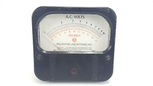 Vintage Weston 861 Decibels Ac Volts 1 10 0 20 Ballantine Panel Mount Meter 4