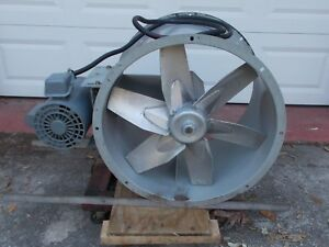 Dayton 24 Paint Booth Exhaust Fan Barely Used usa Made Private Shop 3 Hp
