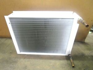 No Name Copper Aluminium A c Refrigeration Condenser Coil 23 5 8 X 30 3 4