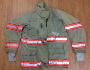 Cairns Rs1 Firefighter Turnout bunker Coat 42 Chest X 32 Length