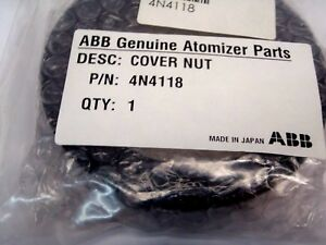 Abb 4n4118 Cover Nut For Robobell Paint Robot Genuine Parts