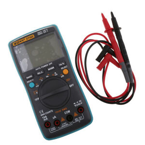 Zt302 Auto range 9999 Digital Multimeter Ac Dc Volt Amp Meter True Rms Test