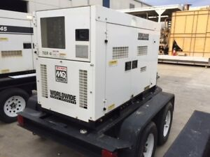 Multiquip Dca45 Portable Generator Set 36kw Standby 240 480v 1800 Rpm