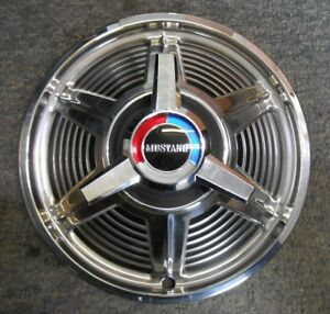 Nos 1964 1964 Ford Mustang 13 Spinner Hubcap Wheel Cover
