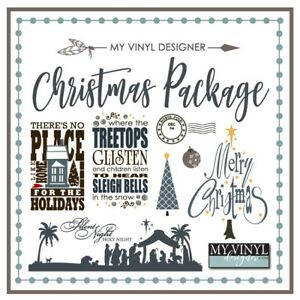 Ultimate Christmas Collection Vector Art Ai Eps Svg Files Usb Vinyl Silhouette