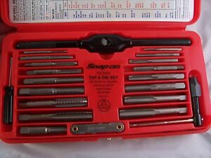 Snap On Fractional inch Tap And Die Set