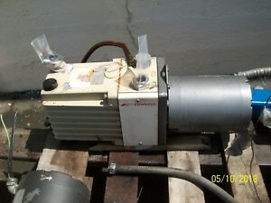 1 Edwards 30 Two Stage High Vacuum Pump E2m 30