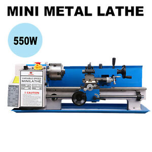 7 X 14 Precision Mini Metal Lathe Machine 550w Variable Speed 0 2500 Rpm