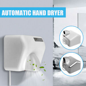 Air Hand Dryer Electric Automatic Sensor 1 Pack Commercial Bathroom 2300w