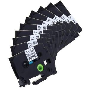 Tze s231 P touch Label Tape Compatible For Brother 12mm Strong Adhesive 10pk