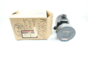 Mercoid 123 3 Water Level Control Switch 120 240v ac