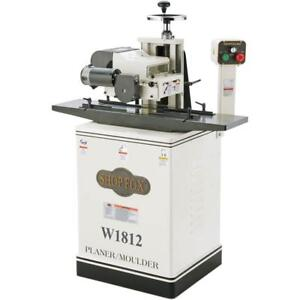 W1812 2 Hp 7 Planer Moulder With Stand Floor Model