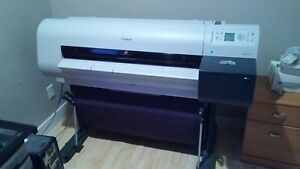 Canon Large Format Printer ipf710 Imageprograf Great Condition With Ink