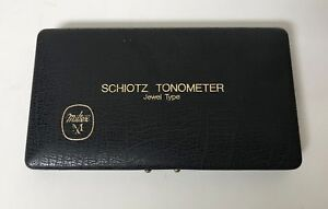 Vintage Miltex Mx Schiotz Tonometer Jewel Type
