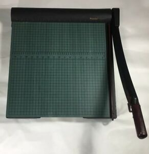 Martin Yale Premier W18 18 Paper Cutter Wood Base Guillotine Paper Trimmer