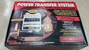 Generac Power Transfer Switch System Kit 7200 Watt 240v