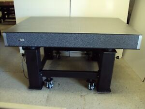 Tested Kinetic Systems 6 Optical Table Pneumatic Vibration Isolation Casters