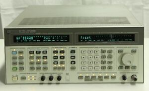 Hp 8644b Synthesized Signal Generator 260khz 2 06 Ghz Opt 001 002