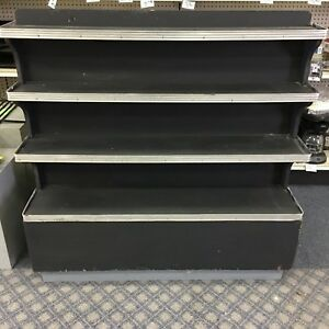 Large Two sided Floor Display Shelf