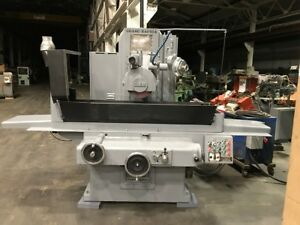 16 X 36 Gallmeyer Livingston G L 3 Axis Hydraulic Surface Grinder