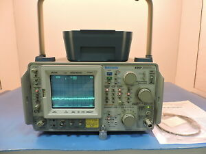 Tektronix 495p Programmable Spectrum Analyzer 100hz To 1 8ghz 90 Day Warranty