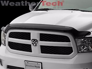 Weathertech Stone Bug Deflector Hood Shield For Dodge Ram 1500 2009 2018