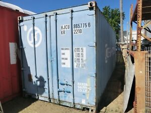 20 Hanjin Shipping storage Container Blue Color
