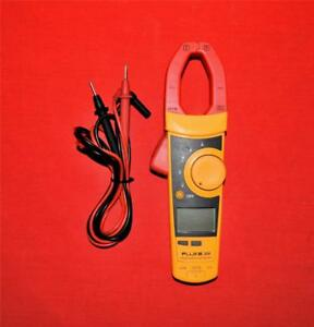 Fluke 336 Trms 600 Amp Ac dc Current Clamp Meter W Leads