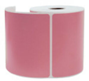 2000 Pink Thermal Shipping Labels 250 roll For Zebra Printer 4 X 6