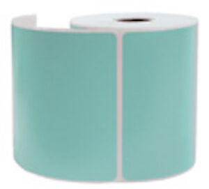 1000 Light Blue Thermal Shipping Labels 250 roll For Zebra Printer 4x6 New