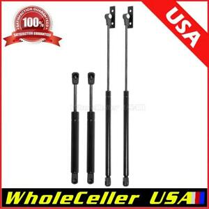 4 Pack 2 Hood 2 Trunk Lift Supports Gas Strut Rod For Pontiac Gto 04 06