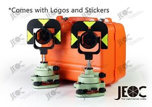 Professional Prism Set Gpr121 For Leica Surveying System 2 Sets In 1 Container