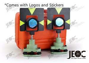 Professional Prism Set Gpr1 For Leica Surveying System 2 Sets In 1 Container