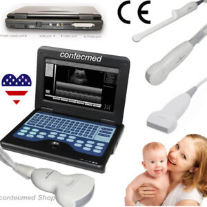 Usa Laptop B ultrasound Diagnostic System scanner Human Use 4 Probes Contec Fda