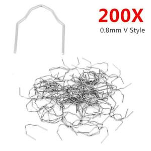 200pcs 0 8mm Hot Staples Car Bumper Fender Fairing Bodywork Repairing Welding