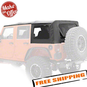 Smittybilt 9080235 Oem Replacement Soft Top For 2007 2009 Jeep Wrangler Jk 4 Dr