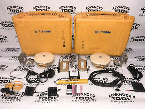 Trimble 5800 Gps Antenna Base Rover Setup W Cdma Bluetooth Radio Gps Rtk