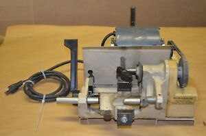Curtis Industries Model 3000 Automatic Key Blank Cutter grinder
