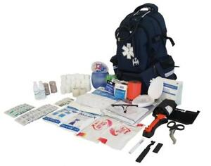 Line2design First Aid Kit Ems Emergency Professional Medical Supplies Backpack