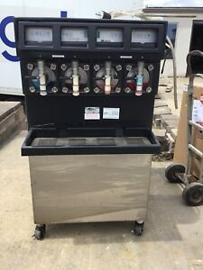 Taylor 349 33 Carbonated 4 Flavor Frozen Icee Slushie Drink Machine 3 Phase 6