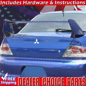 2002 2007 Mitsubishi Lancer Evo 8 Viii Factory Style Spoiler Wing Fin Unpainted