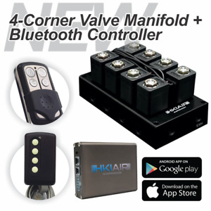 New Air Ride Suspension Valve Manifold Bluetooth Controller Best Price