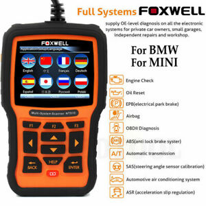 Full System Obd2 Engine Diagnostic Tool Foxwell Nt510 Pro For Bmw Auto Scanner