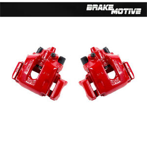 Rear Red Powder Coated Brake Calipers For Bmw 323it 325ci 325i Z4 328i