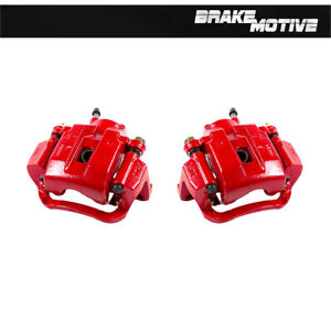Rear Red Brake Calipers Pair 2007 2008 2009 2010 2011 2012 2015 Sequoia Tundra